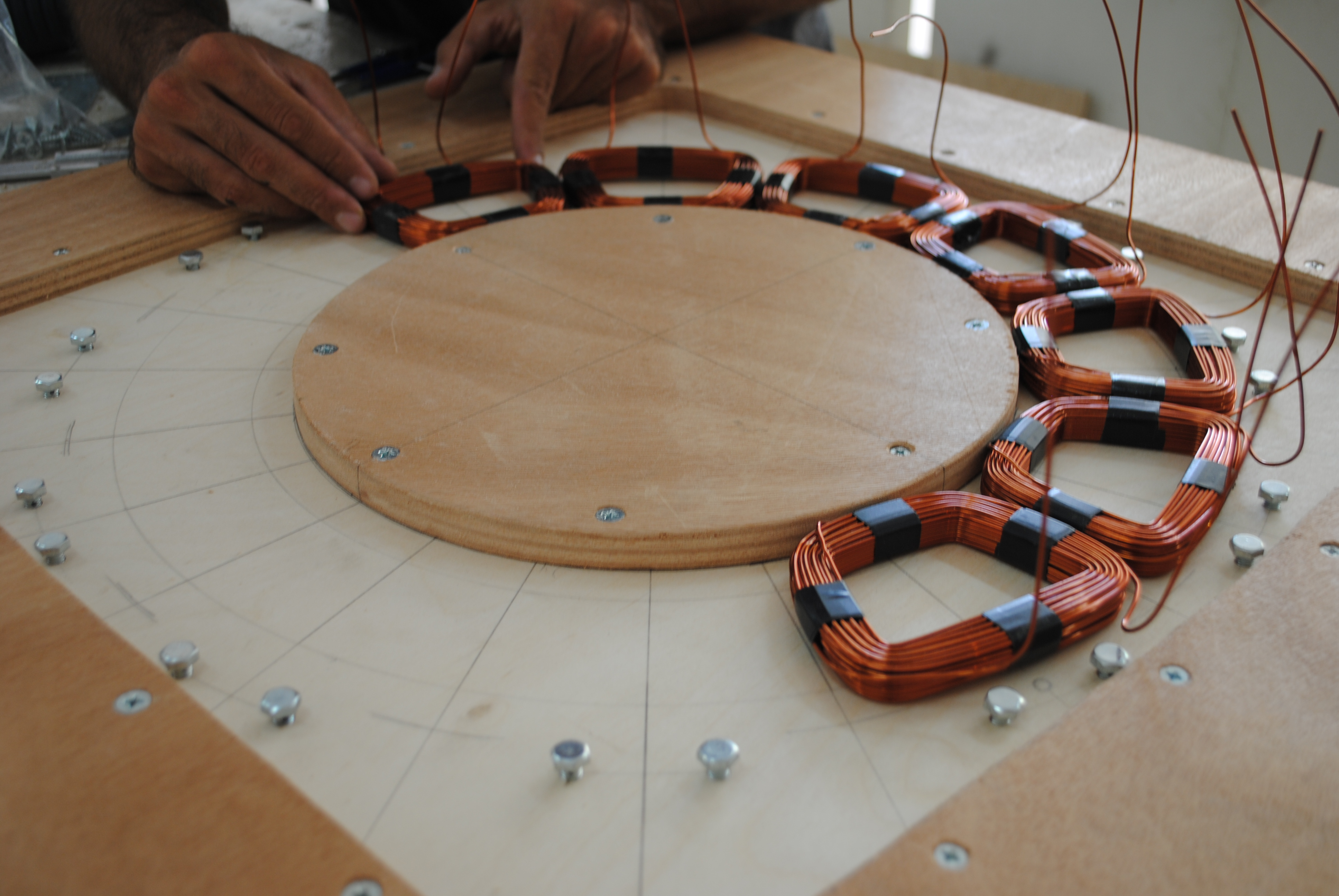 August 2013 Ferrite Magnet Generator For A 2 4m Rotor